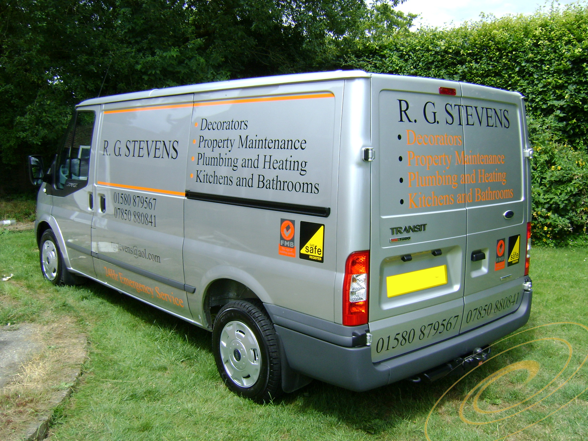 van signs by make and model